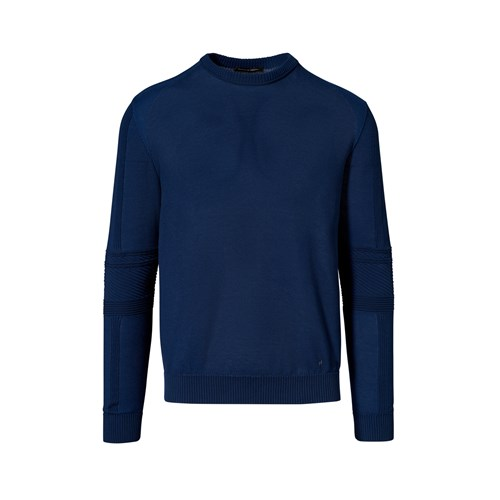 Uni Coloured Racing Detail Sweater