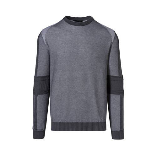 Racing Detailed Crew Neck Long Sleeve