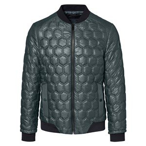 Hexagon Quilted Chaqueta