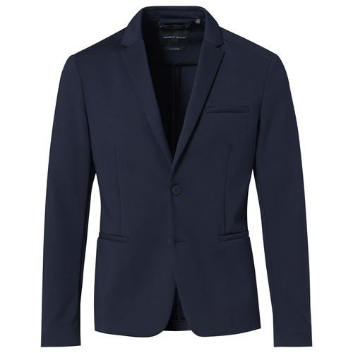 2-Button Bi-Stretch Jersey Blazer