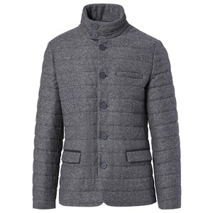 Formal Quilted Flanell Jacket