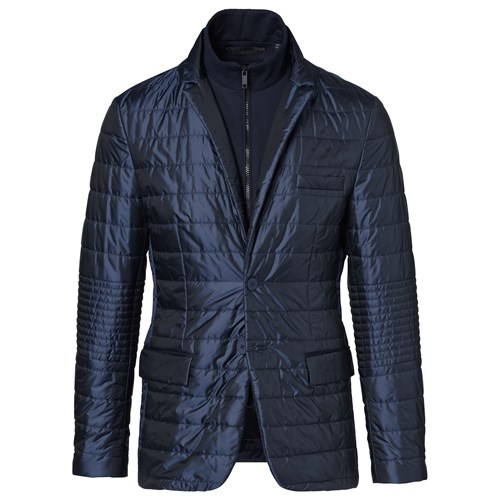 Summer Ombre Quilted Blazer