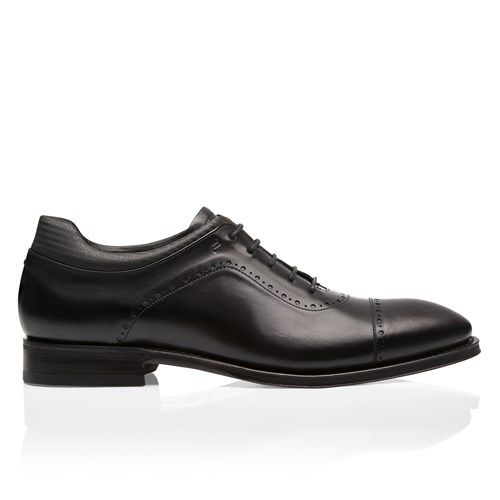 Business Casual GY Nappa Lace Up Mocassim