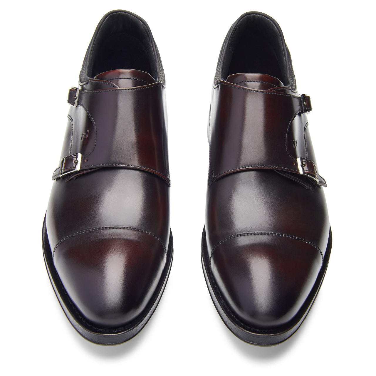 Business Casual GY Calf Double Monk Mocassim