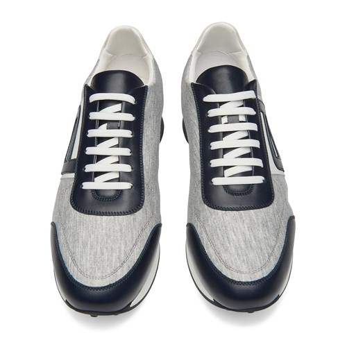 Lace Up Jersey Sneaker