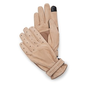 Goat Suede Perforated Guantes