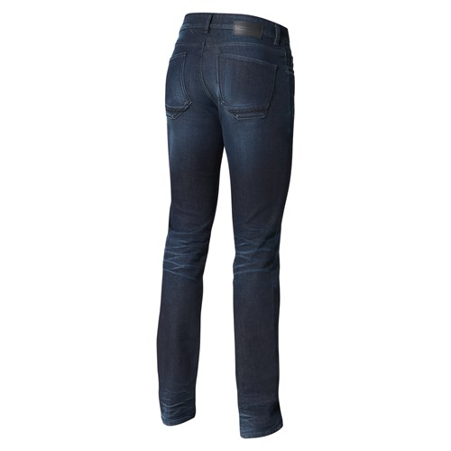 Treated Electrified Slim Fit Pantaloni